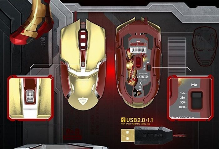 souris-iron-man-gaming-e3lue-gameur-marvel [700 x 476]