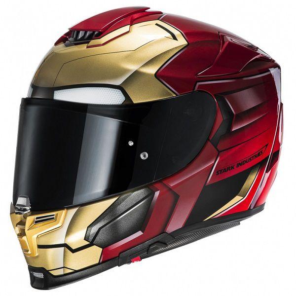 13 Casques De Moto Iron Man Pour Le Fan