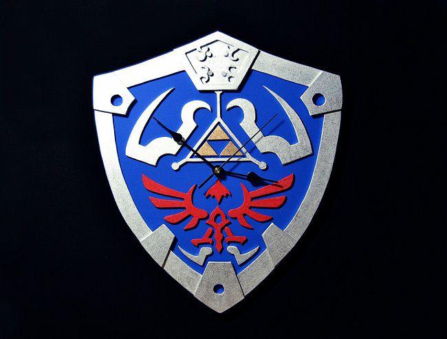 horloge-bouclier-link-hylien-legend-of-zelda-murale-nintendo-650-x-493