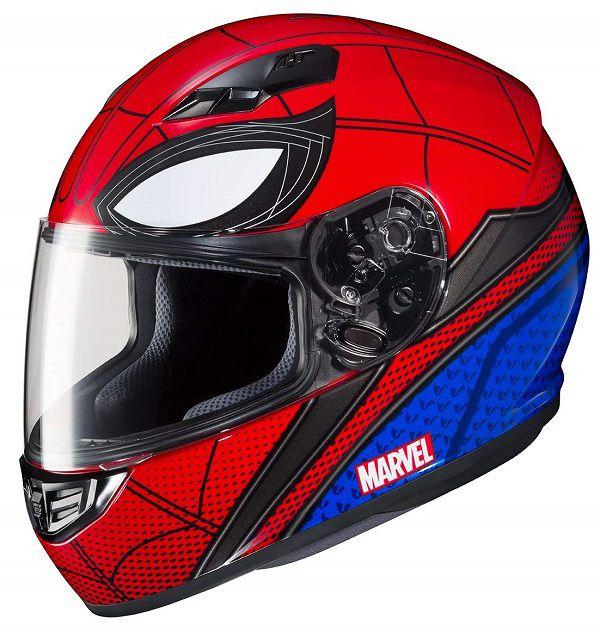 Les Casques De Moto Spider Man Et Venom Par Hjc