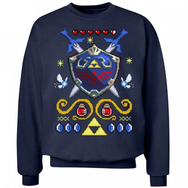 pull-noel-zelda-bouclier-nintendo-sweat-shirt-gaming-600-x-600