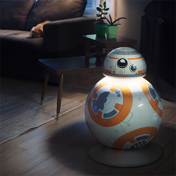 lampe bb 8 taille relle lampe officielle star wars
