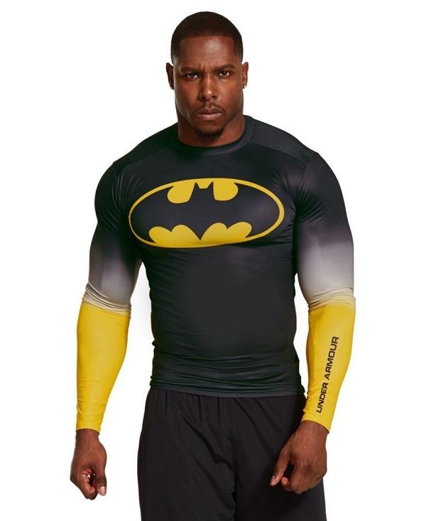 60 t shirts Under Armour Marvel et DC Comics