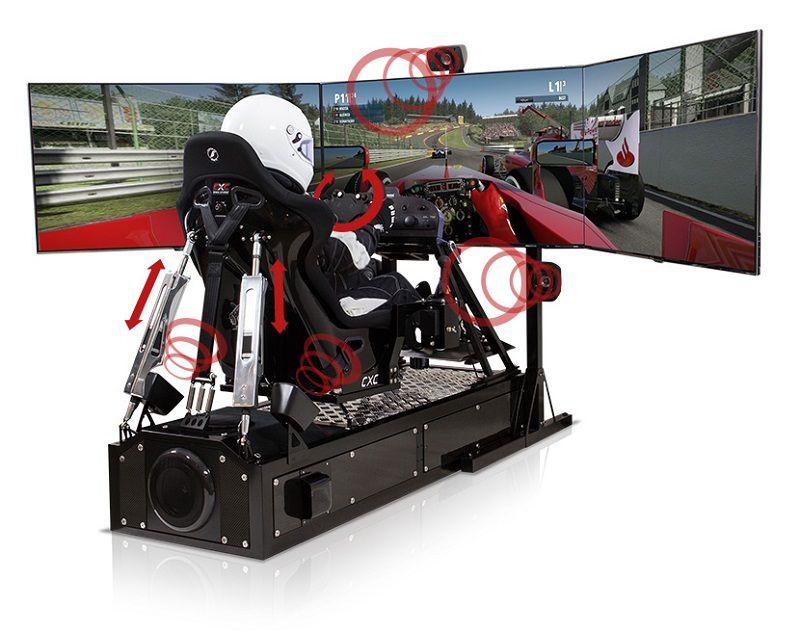 cxc motion pro ii le si ge ultime pour la simulation automobile. Black Bedroom Furniture Sets. Home Design Ideas