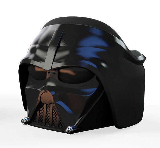 star wars un incroyable fauteuil casque de dark vador. Black Bedroom Furniture Sets. Home Design Ideas