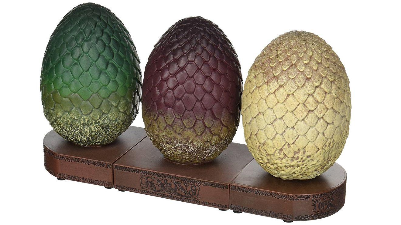 3 Serre Livres Game Of Thrones Oeufs De Dragons Trone