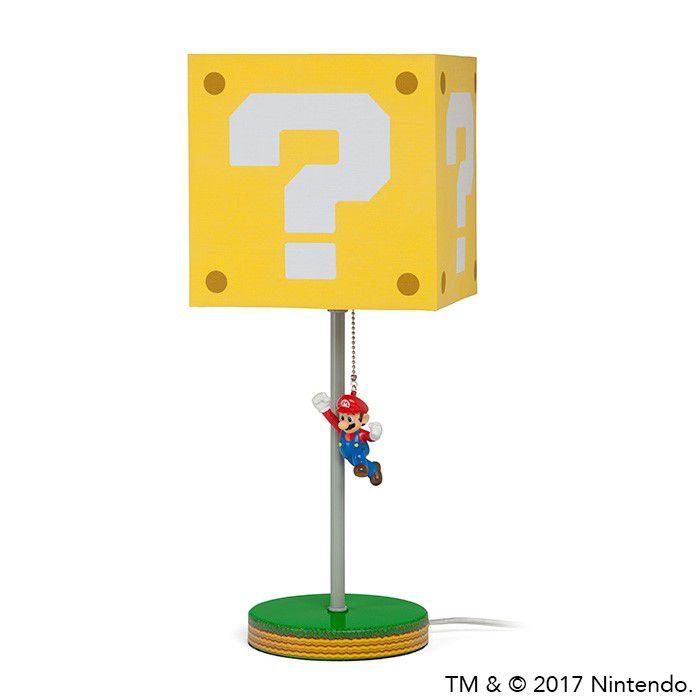 Jour Abat Question La Lampe Mario Avec Block Super v8N0nOmw