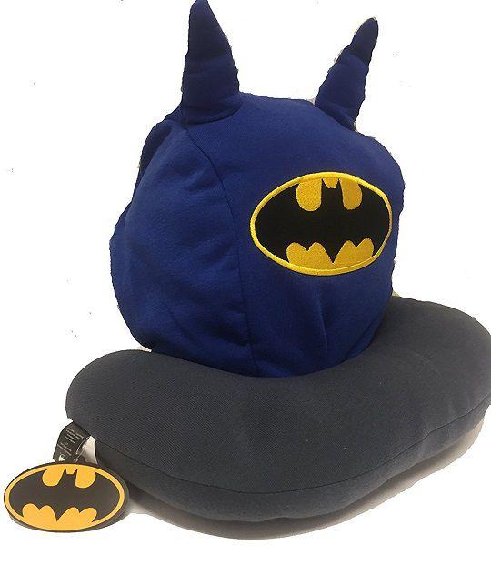 Genuine DC COMICS Batman À Capuche Cou Oreiller oreilles Voyage Vacances Accessoires