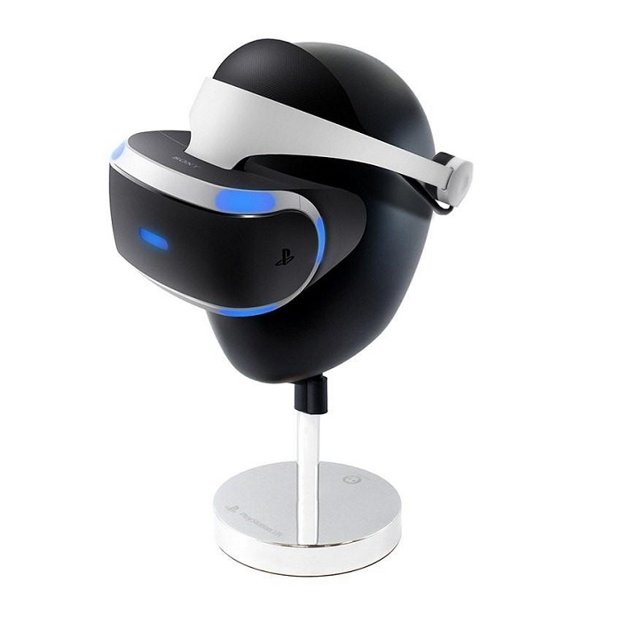un superbe support pour casque sony playstation vr. Black Bedroom Furniture Sets. Home Design Ideas