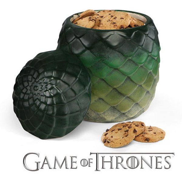 game of thrones le bocal cookies uf de dragon. Black Bedroom Furniture Sets. Home Design Ideas