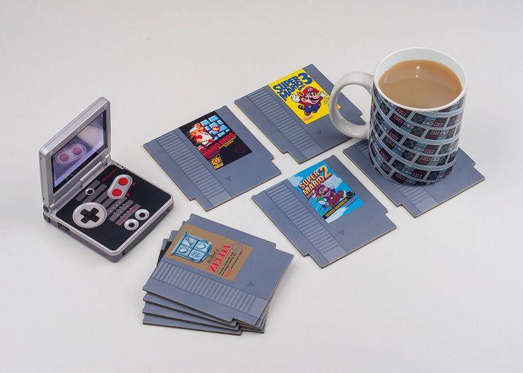Des Dessous De Verre Cartouches De Jeux Video Nintendo Nes