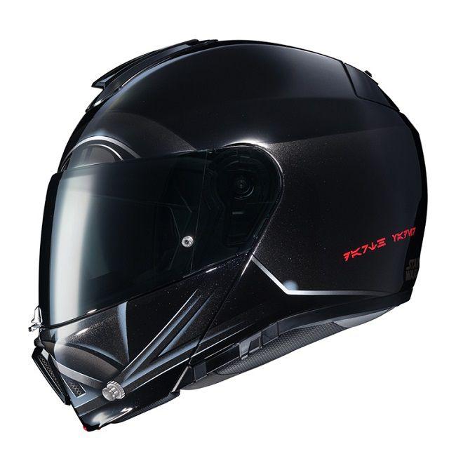 star wars un superbe casque de moto dark vador par hjc. Black Bedroom Furniture Sets. Home Design Ideas