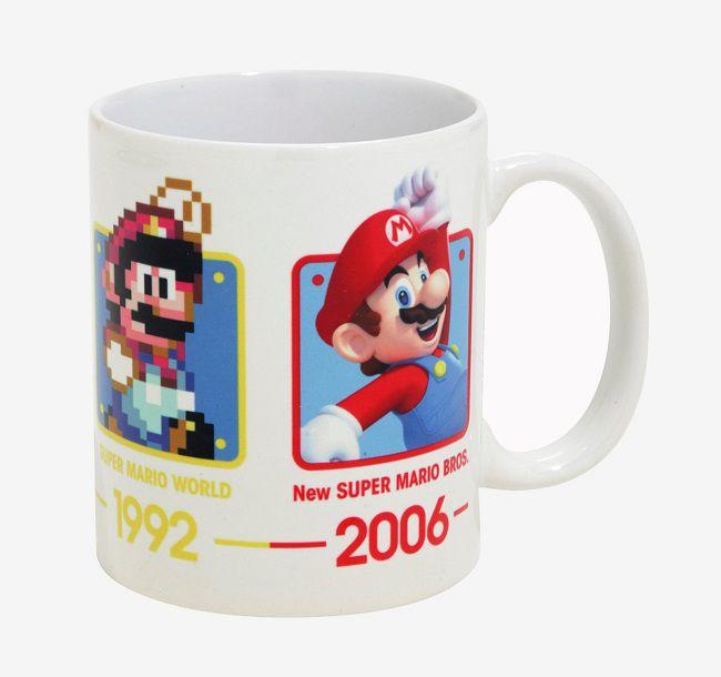 Mario Du Mug Un L'évolution Qui Super Retrace Héros dBCxore