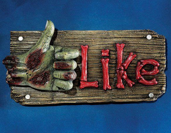 Zombie-FleshBook-LIKE-Wall-Sculpture-facebook-jaime