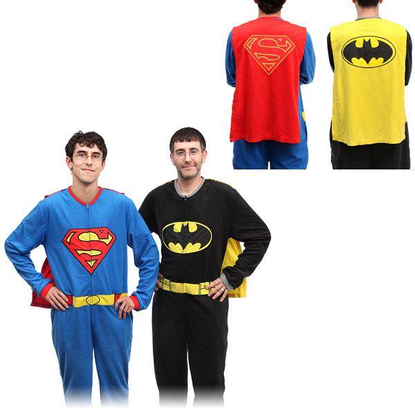 Superhero-Fleece-Pajamas