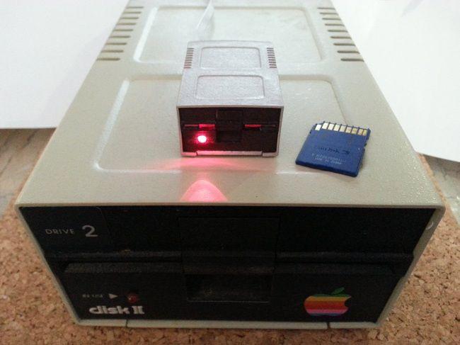 lecteur-disquette-flash-drive-sdcard-apple-2-II