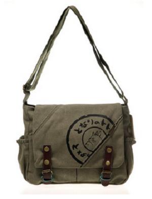 My Neighbor Totoro Canvas Messenger Bag Aslant Bag [300 x 393]