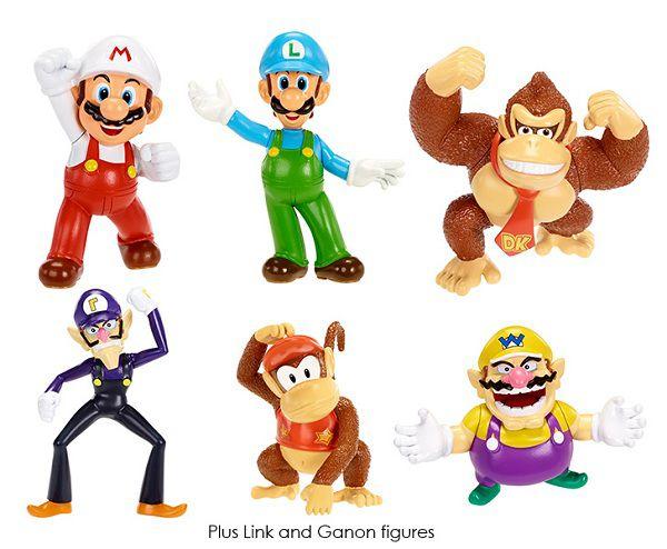 Figurines Nintendo World 6 cm