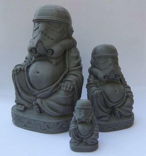 Zen Trooper - Bronze