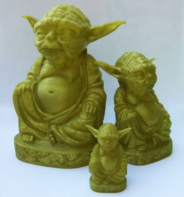 Yoda Zen - Vert marais de Dagobah