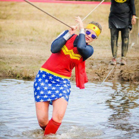 Running costume - Wonder Woman