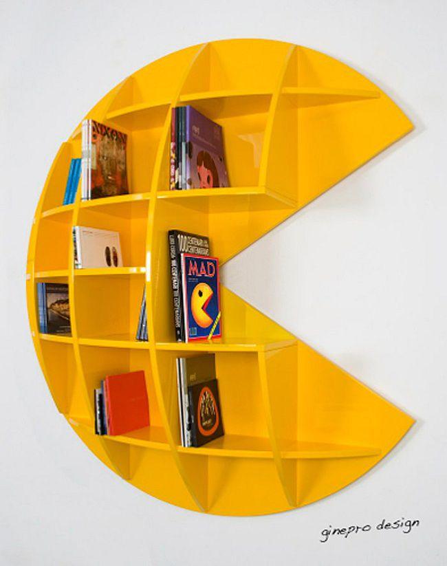 Puckman-pacman-bookcase-etagere [650 x 823]
