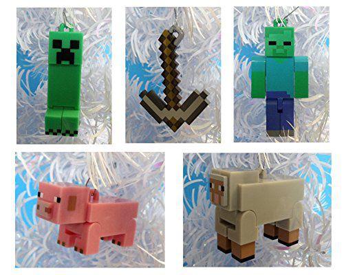Minecraft-decoration-sapin-noel-pack-2 [500 x 400]
