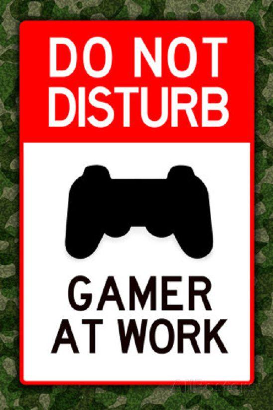 do-not-disturb-gamer-poster-ps3-jeu-video [548 x 822]