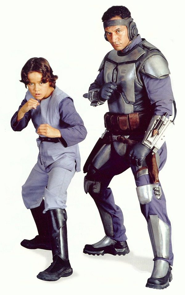 Jango Fett et son fils / clone, Boba Fett