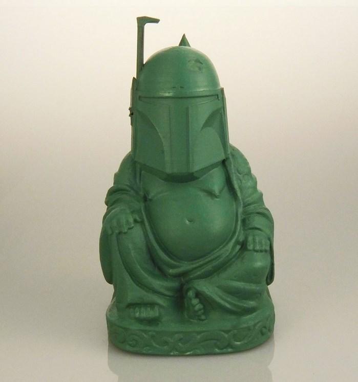 buddha-bouddha-statue-Boba Fett-star-wars [699 x 747]