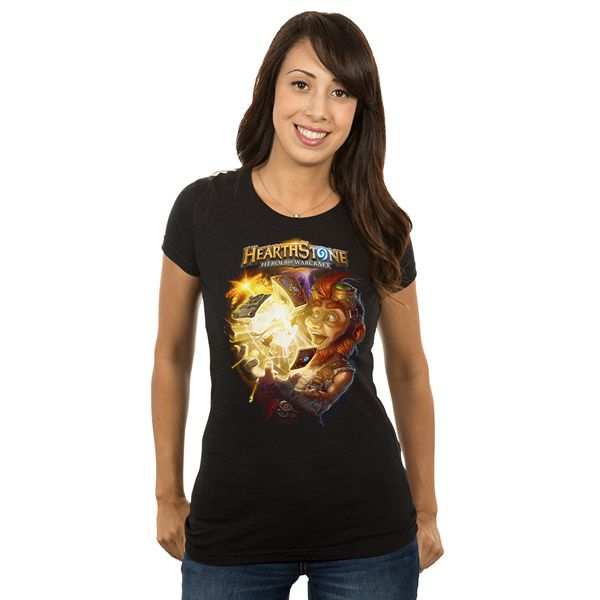 hearstone-t-shirt-loot-women [600 x 600]