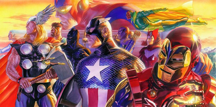 marvel-avengers-invicible-alex-ross-canvas-art-signed [750 x 374]