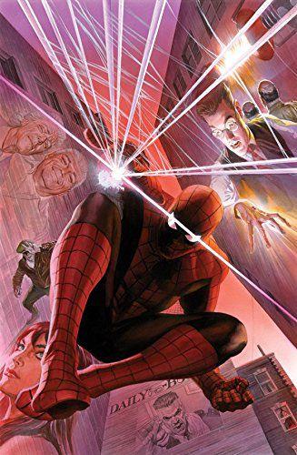marvel-spiderman-canvas-art-alex-ross-signed [327 x 500]