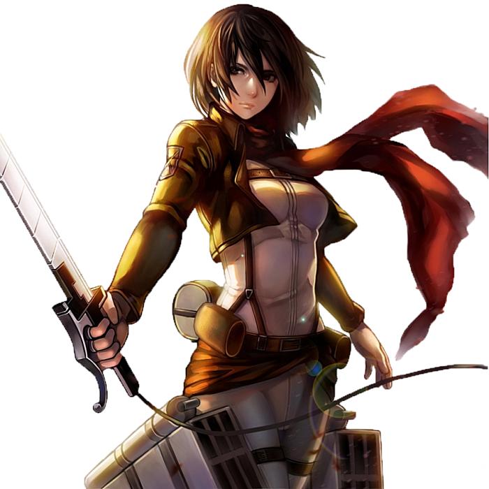 Mikasa_ackerman [700 x 700]