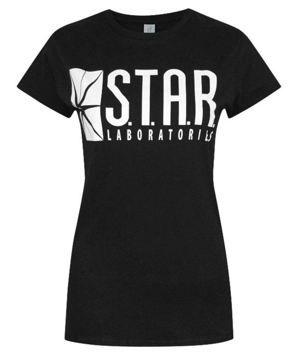 flash-dc-comics-t-shirt-star-labs-femme-cosplay [600 x 722]
