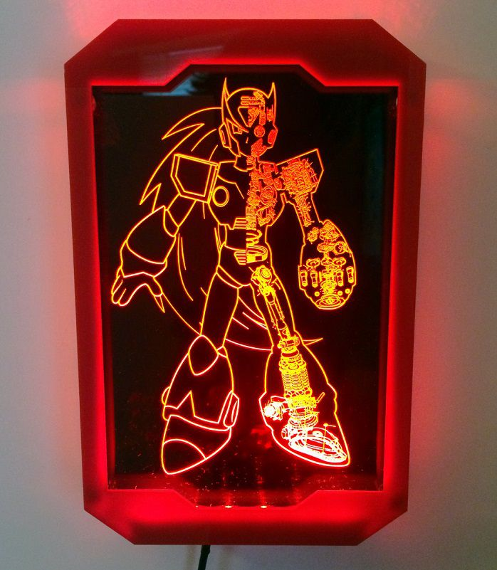 light-art-megaman-zero-tableau-led-lumineux [698 x 801]