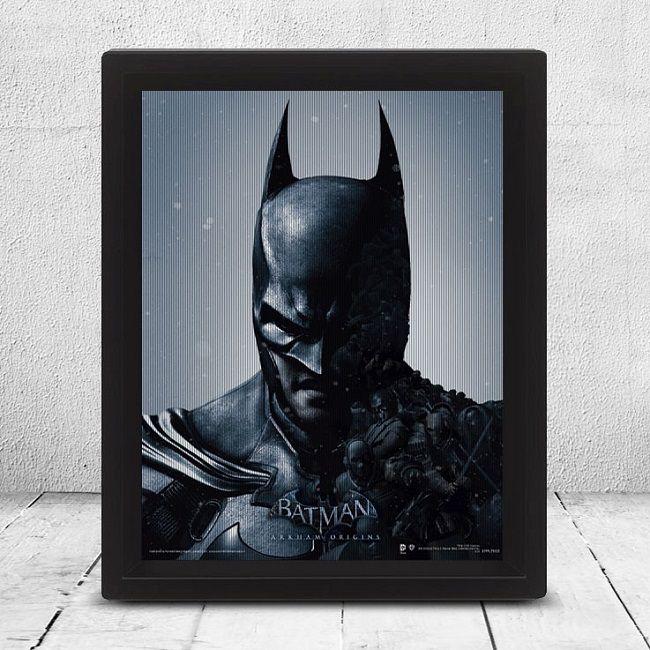 3d-poster-batman-hologramme-lenticulaire-arkam-origins [650 x 650]