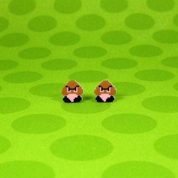 boucles-oreilles-earrings-nintendo-mario-goomba [570 x 570]