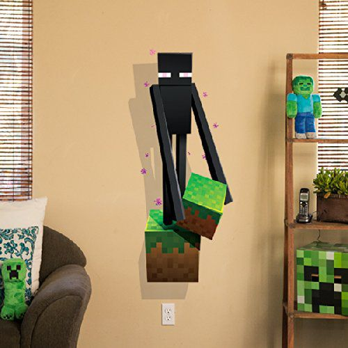 minecraft-wall-enderman-decal-stickers-mural-3d [500 x 500]