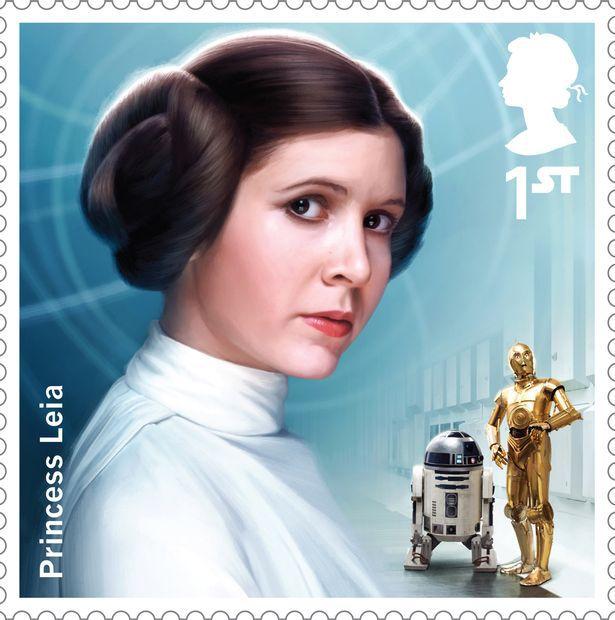 Princesse-Leia-timbre-star-wars-royal-mail-collection-stamp [615 x 620]