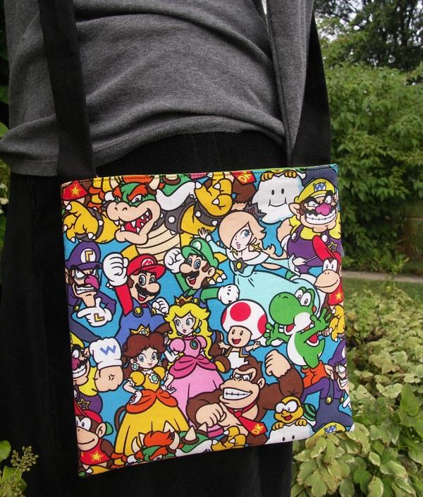 sac bandoulière Mario