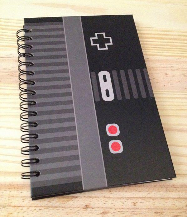 notebook-bloc-notes-nintendo-nes-jeu-video-gaming [600 x 697]