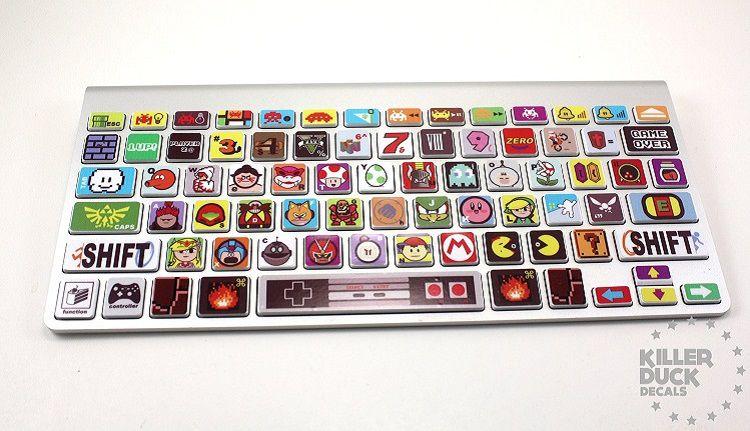 jeu-video-gaming-autocollant-sticker-clavier-macbook-touche-nintendo-retrogaming [750 x 431]