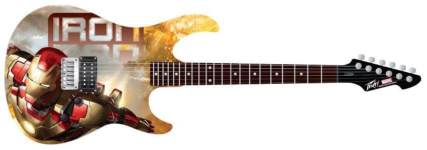 marvel-iron-man-guitare-peavey-rockmaster-electrique [850 x 299]