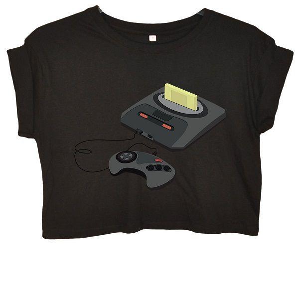 t-shirt-sega-mega-drive-genesis-console-manette-retrogamingcrop-top-femme-noir [600 x 586]