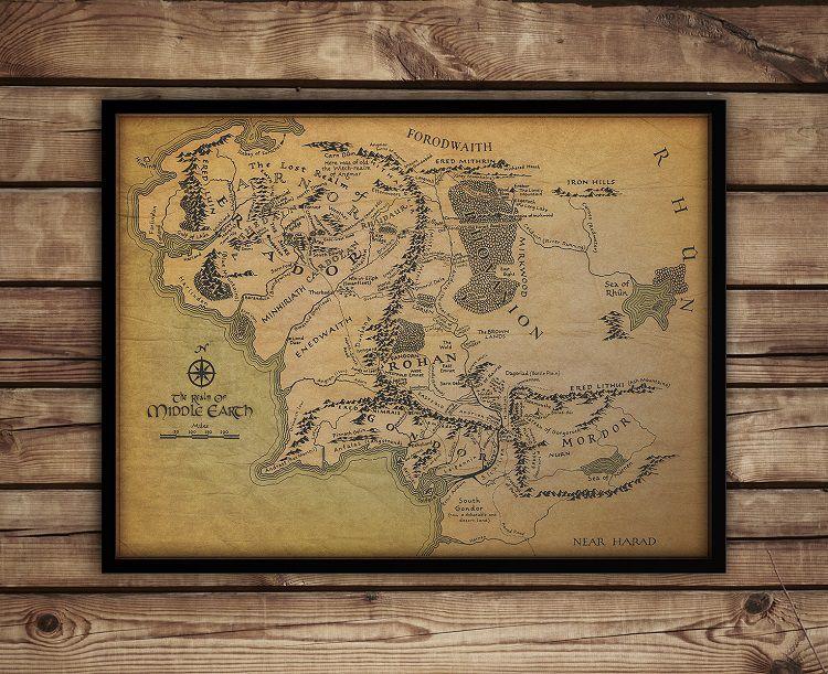 carte-tableau-terre-milieu-seigneur-anneaux-decoration-affiche-poster [750 x 611]