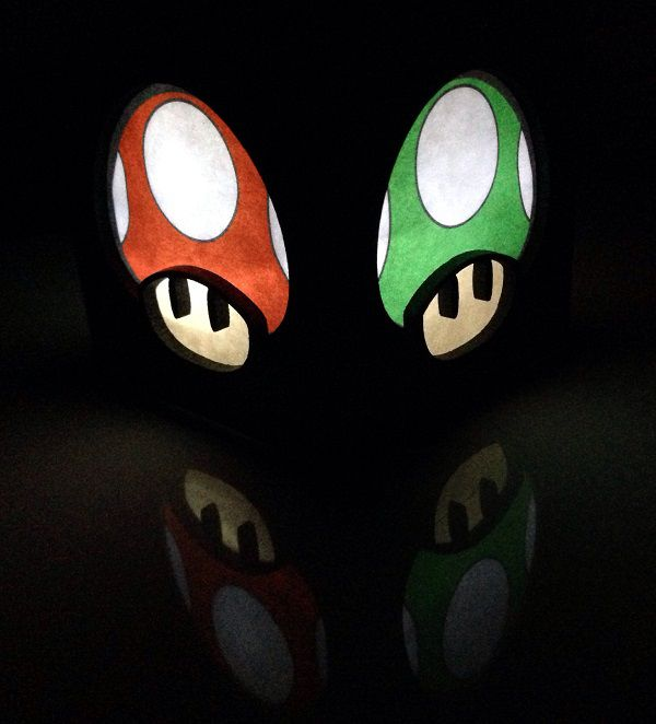 super-mario-bros-mushroom-champignon-boite-lumiere-light-box-nintendo-decoration [600 x 662]