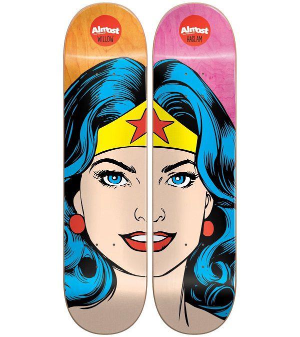 dc-comics-wonder-woman-split-face-skateboard-almost-planche-deck-600-x-673
